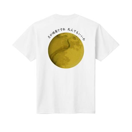 月が綺麗ですねTシャツ