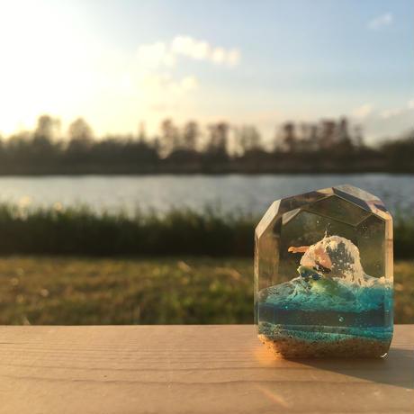 CrystalCube N size green