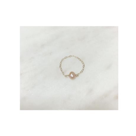 Pon Pon Pearl Chain ring
