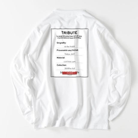 Tribute ver-2 L/S(WHT)