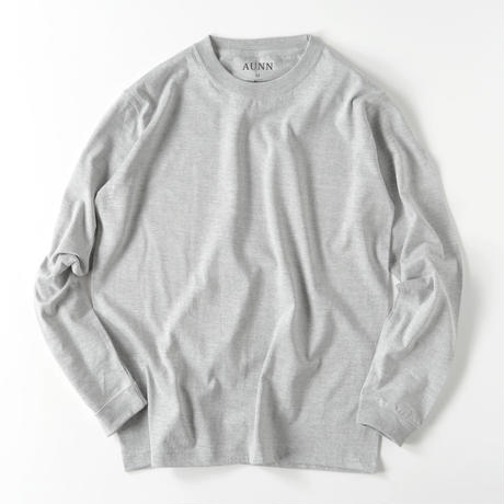 owned media L/S Tee(GRY)