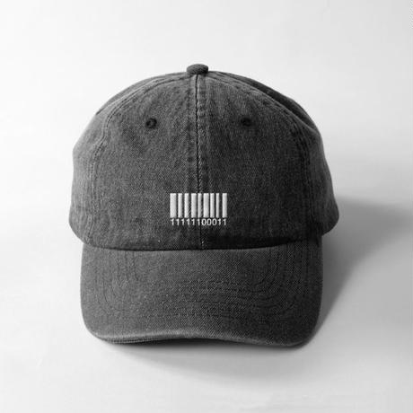 "DENIM CAP""Binary Number""(BLK)"