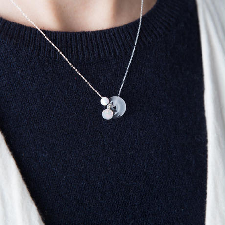 marble necklace / 16-n12