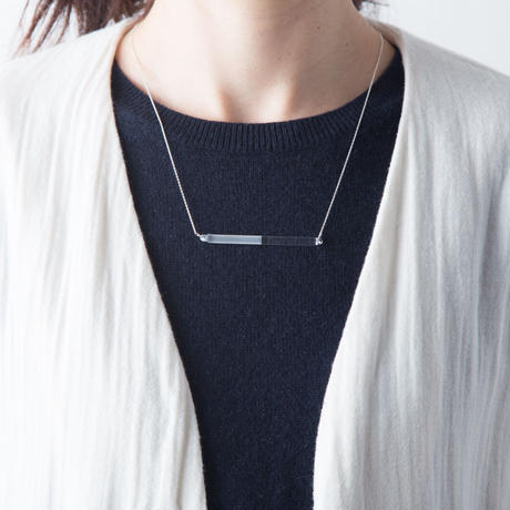 sandblast necklace / 16-n11