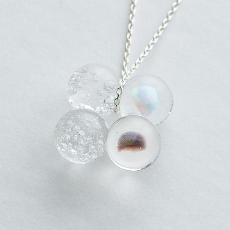 verre bijoux neckless / 20-n5