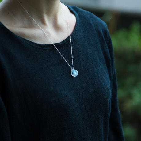 marble necklace / 16-n13