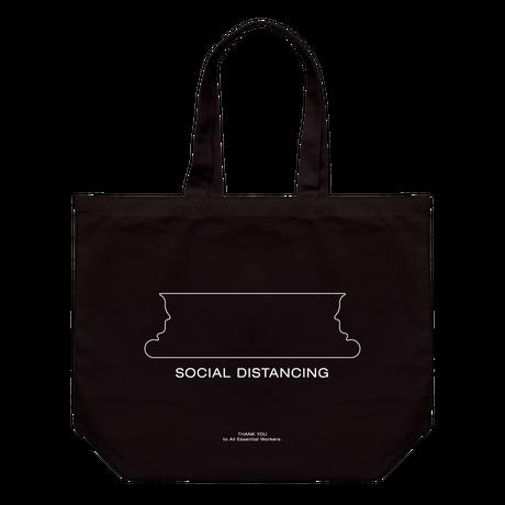 Social Distancing Tote  (Black)