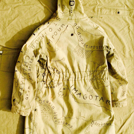 【on military】OMA overdrawing デッキコート|coat  01「海獣|Marine animals」