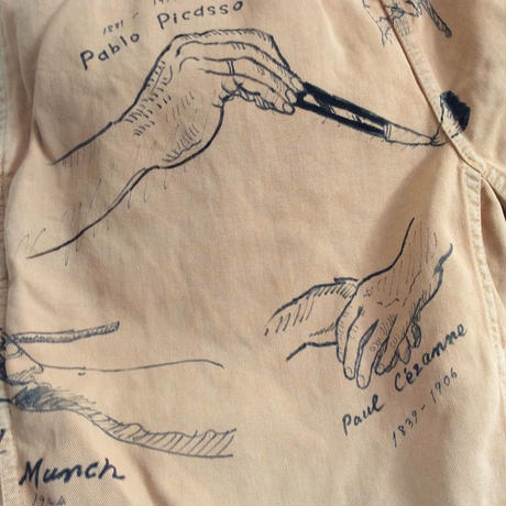 【on GRAMICCI】OMA overdrawing shorts 14   the artist's hands |  芸術家の手