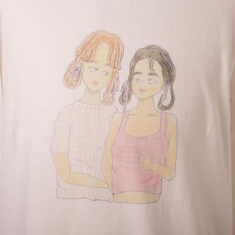 なかよし姉妹ロングスリーブシャツ