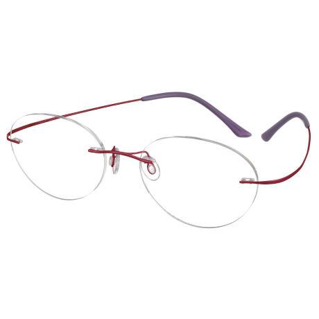 【超軽2.5g】ブルーライトカットメガネ(度無し)ULTRALIGHT TITAN【紫外線99.9%カット】