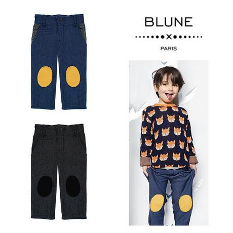 BLUNE デニム風パンツ (16014)