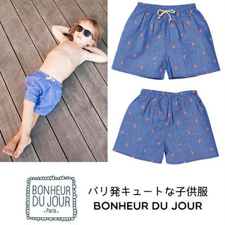 BONHEUR DU JOUR パリの子供服 ボーイズスイムパンツ(17016)