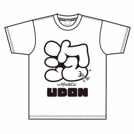 Tシャツ(泡×UDON)WHITE ※男女兼用
