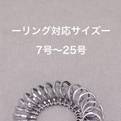 レギュラーリング_1本/刻印(10文字まで文字入れ無料)