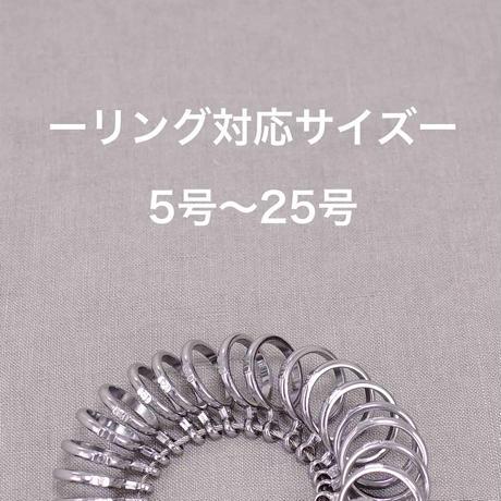 ラウンドリング_1本/刻印(10文字まで文字入れ無料)
