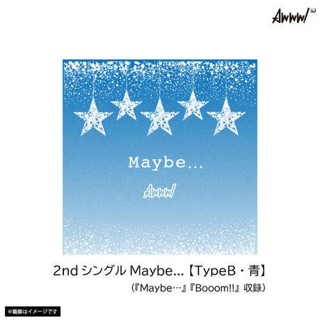 【早期予約限定特典付き】Awww!2ndシングル「Maybe…」3枚セット