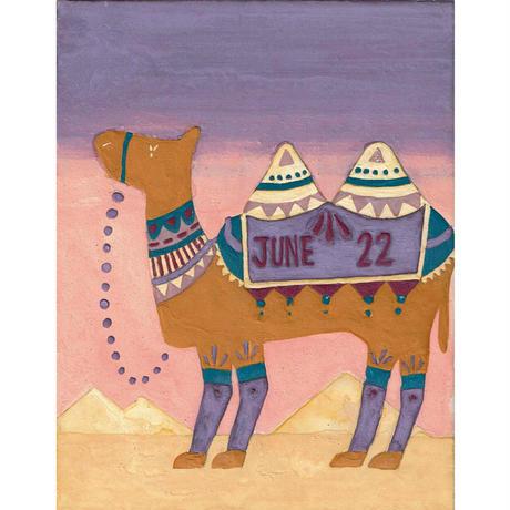 【日本画】6/22 Camelラクダ『366DAYS』