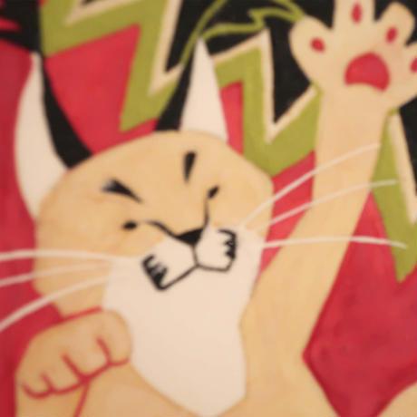 【日本画】6/11 Caracalカラカル『366DAYS』