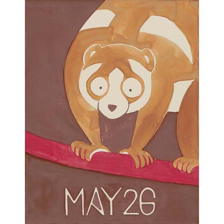 【日本画】5/26 Slow lorisスローロリス『366DAYS』