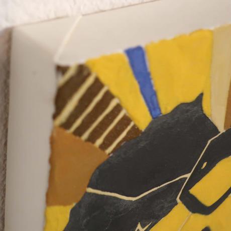 【日本画】5/24 Ruffed lizardエリマキトカゲ『366DAYS』