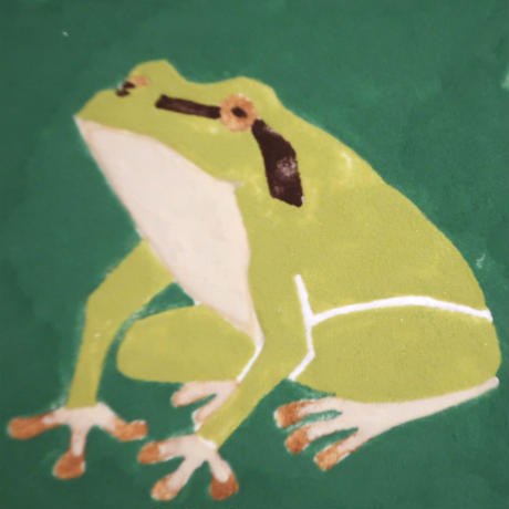 【日本画】6/6 Frog カエル『366DAYS』