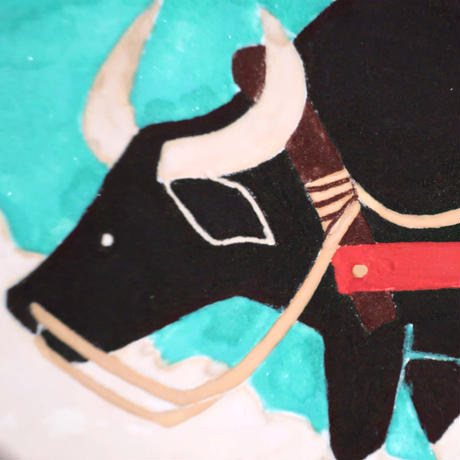 【日本画】5/31 Water buffaloスイギュウ『366DAYS』