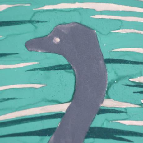 【日本画】6/9 Nessieネッシー『366DAYS』