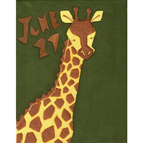 【日本画】6/21 Giraffeキリン『366DAYS』