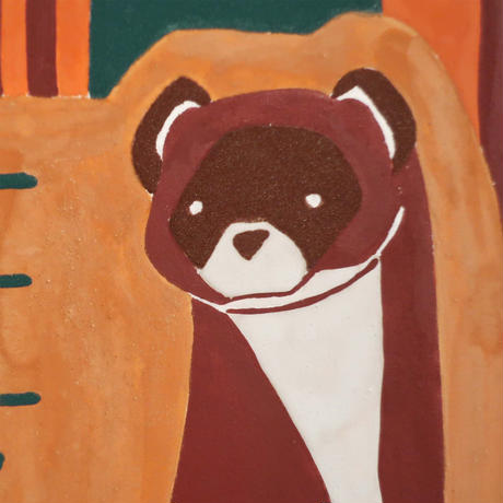【日本画】6/8 Weaselイタチ『366DAYS』