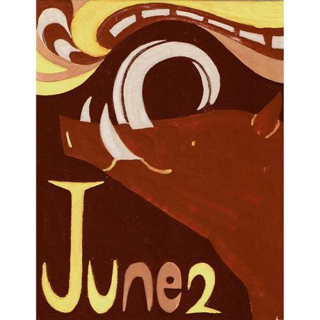 【日本画】6/2 Babirusaバビルサ『366DAYS』