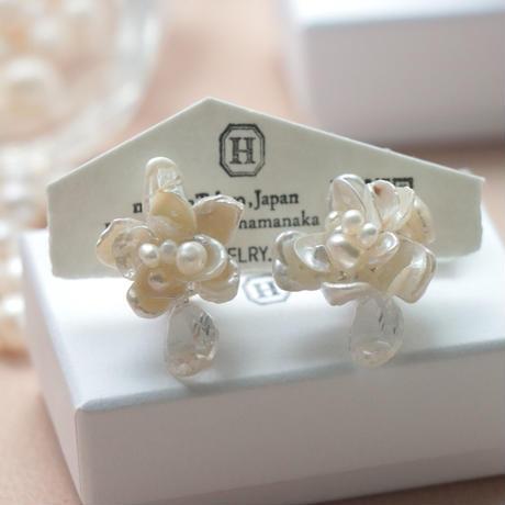 Flower  with bijou  <Crystal>