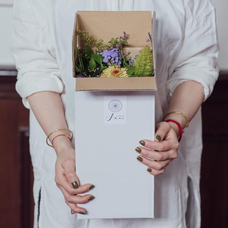 Acorのお花の定期便~2月スタート予約受付~【4回コース/月1回お届け】