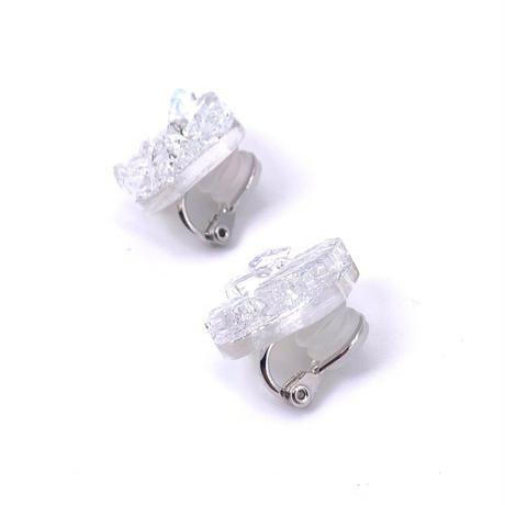 イヤリング ホワイト (0043)