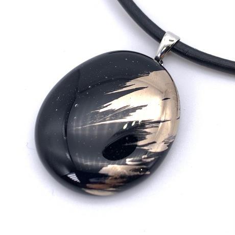 革ひもネックレス ブラック (0071)