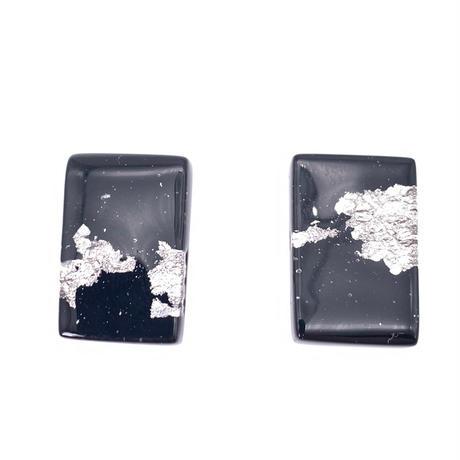 カフス ブラック プラチナ箔 (0068)