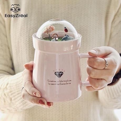 ファンシー動物園のマグカップ