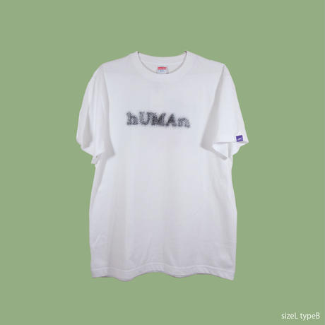 ♦︎Limited♦︎L size 「hUMAn」SHORT SLEEVE Tee