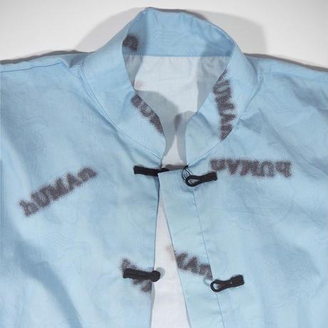 「hUMAn」MANDARIN Long sleeve SHIRT(LADIES)