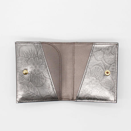 METALLO / MINI WALLET / GUNMETAL