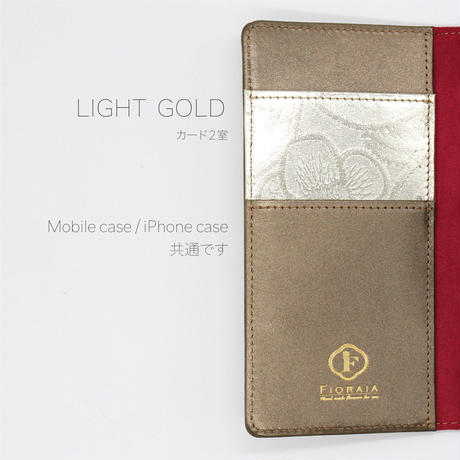 METALLO / iPhone X/XS  Case / LIGHT GOLD