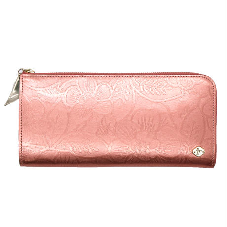 METALLO / LONG WALLET / SALMONPINK