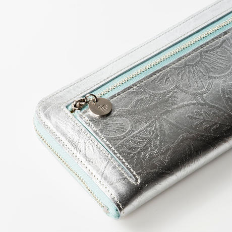 METALLO / LONG WALLET / GUNMETAL