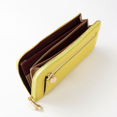 CALLA / FASTENER  LONG  WALLET