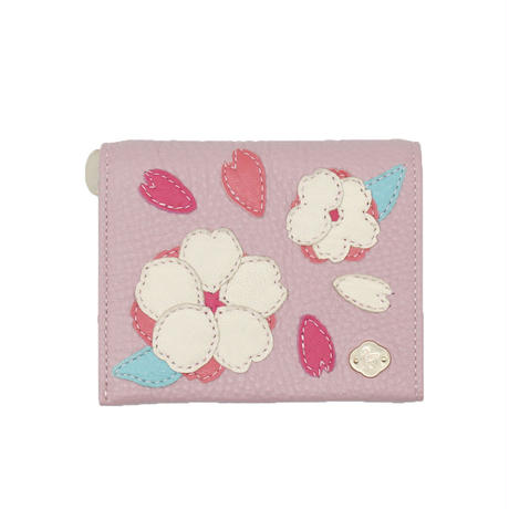 CHERRY BLOSSOMS / MINI  WALLET