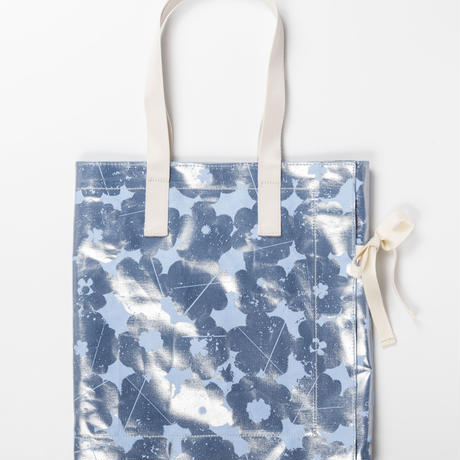 LUCE  /  ribbon tote bag  / LIGHT BLUE