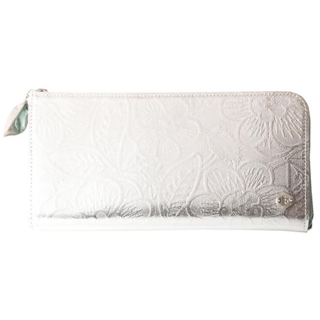 METALLO / LONG WALLET / SILVER