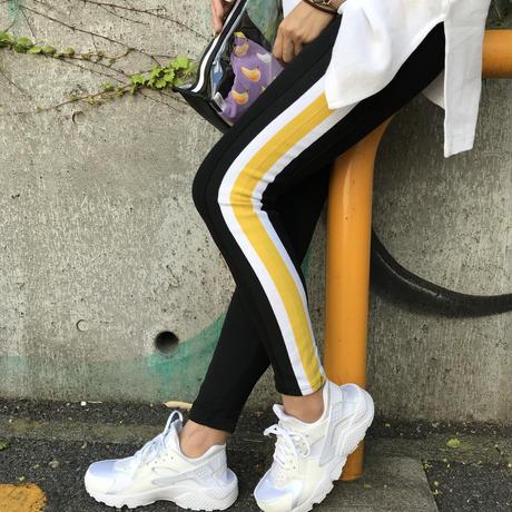 【¥4,790→¥2,000】カラフルラインHiGHストレッチpants