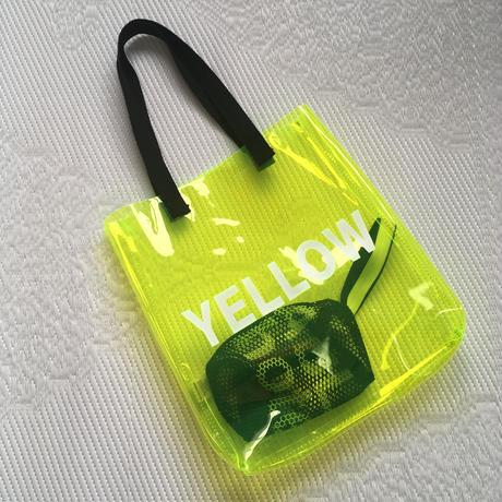 【¥4,290→¥3,500】クリアトートバッグ「YELLOW」