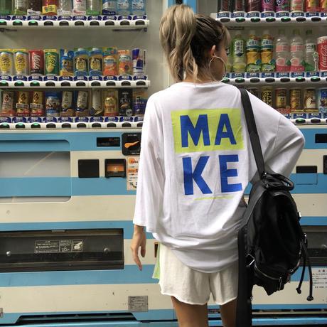 【¥5,690→¥4,500】ワンピTシャツ「MAKE」
